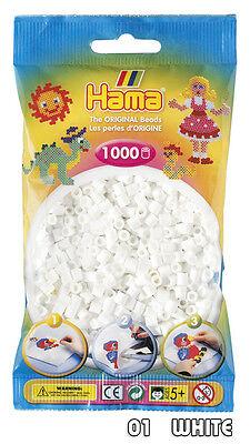 Hama Beads 1000 Per Bag - Choice of 60 Colours