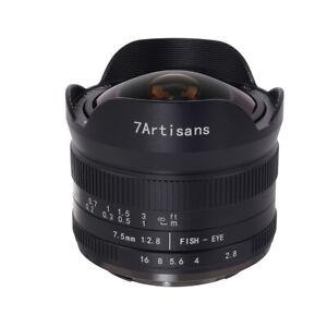 7artisans 7.5mm F2.8 APS-C Fisheye lens for Nikon Z-mount Z6 Z7 Z50+ Lens Pouch