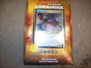 Details about DRACONIC DOMINATION MTG 2017 COMMANDER SEALED DECK FREE  SHIPPING WITH TRACKING