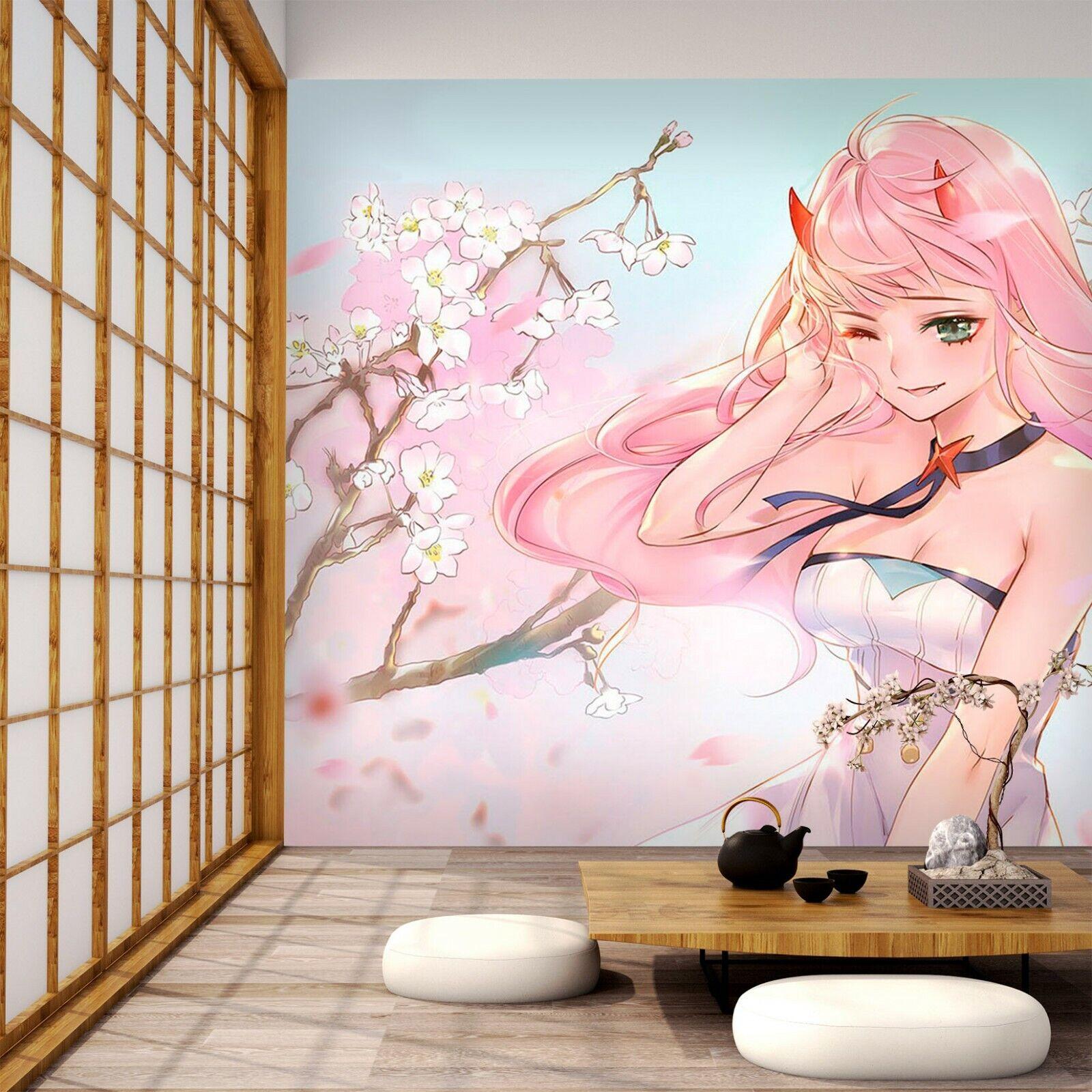 3D DARLING In The FRANXX H27 Japan Anime Tapete Wandgemälde Karikatur Wand Acmy
