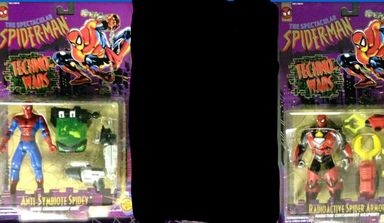 Spectacular Spider-Man Techno Wars 2 figure set