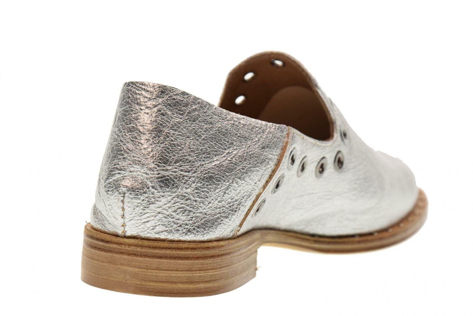 Erman's P18u shoes woman moccasin ST01 SILVER SILVER SILVER a4e65c