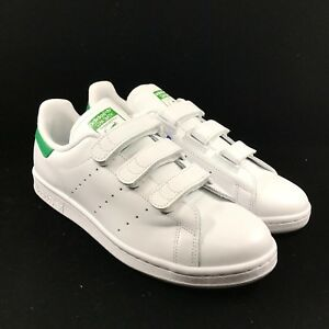 buy online 16241 f1252 Image is loading Adidas-Stan-Smith-CF-Fairway-Green-White-Shoes-