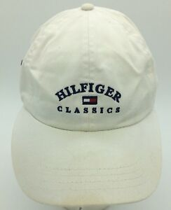 6710fcbb Image is loading Vintage-Tommy-Hilfiger-Tommy-Classics-Flag-Logo-White-
