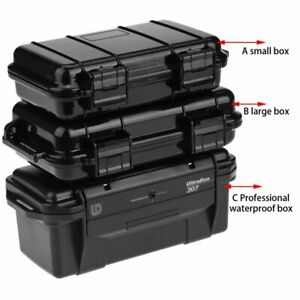 ABS-Sponge-Shockproof-Waterproof-Case-Outdoor-Survival-Container-Storage-Box-AU