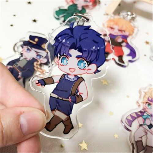 JOJO/'s Bizarre Adventure Acrylic Pendant Itabag Key Chains Key ring Cosplay Gift