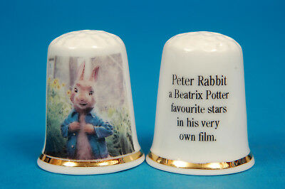 A Very Modern Peter Rabbit Everyones Favourite by Beatrix Potter Thimble B//63