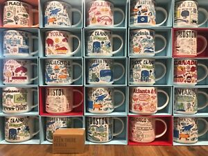 Starbucks City Coffee Mug BEEN THERE SERIES BTS Ornament Collection 2 oz NIB