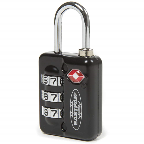 Eastpak Padlock Backpacks Padded Luggage Lock-It Black Approved Tsa EK18C008