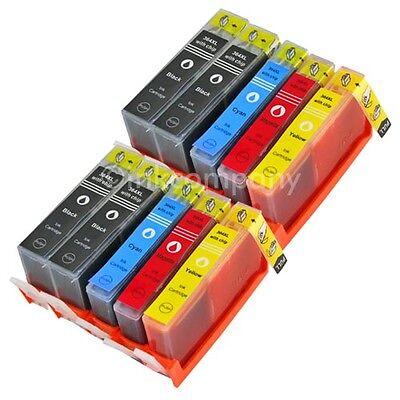 10 DRUCKER PATRONEN mit Chip für HP 364 XL Officejet 4620 4622 Deskjet 3524 3520