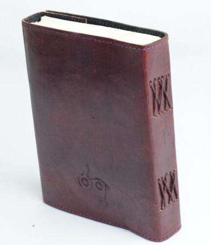 B-Ware Baum Indien Tage Notiz Skizze Lederbuch Vintage NEUE PAPIERART Handarbeit