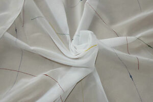 White voile curtain fabric remnant 79x114cm 31x44034 crisscrossed - <span itemprop=availableAtOrFrom>Bristol, Avon, United Kingdom</span> - White voile curtain fabric remnant 79x114cm 31x44034 crisscrossed - Bristol, Avon, United Kingdom