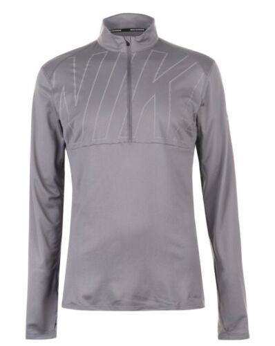 Nike Men/'s Running Running Sweater Long Sleeve Shirt Sweater Grey all Sizes New