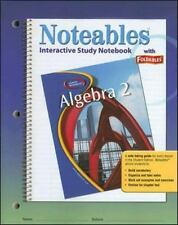 Glencoe Algebra 2, Noteables: Interactive Study Notebook with Foldables (MERRIL
