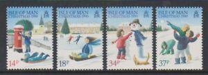 Isle-of-Man-1990-Christmas-set-MNH-SG-459-62
