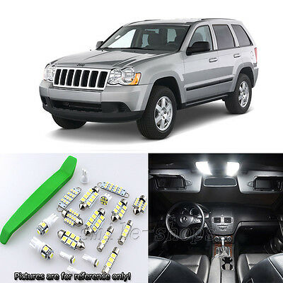Jeep Grand Cherokee Rear Number Plate Bulbs Reg Plate Bulb Light Lights 05-10