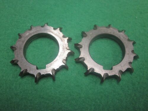 2 DOUBLE 45° ANGLE MILLING CUTTER 12T 1-7//8 x 1//4 x 1
