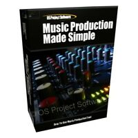 Music Production Multi-Track Editing Recording Mixing Studio Software Program