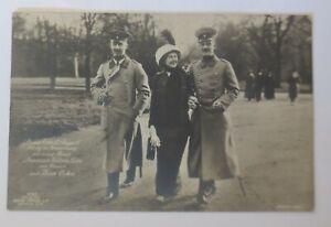 Prinz Ernst August u. Prinzessin Victoria Luise mit Prinz Oskar  1915 ♥ (43458)