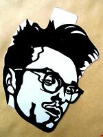 "MORRISSEY, Original Pop Art, Vinyl decal sticker Sticker 4""X 5"" inches Portrait"