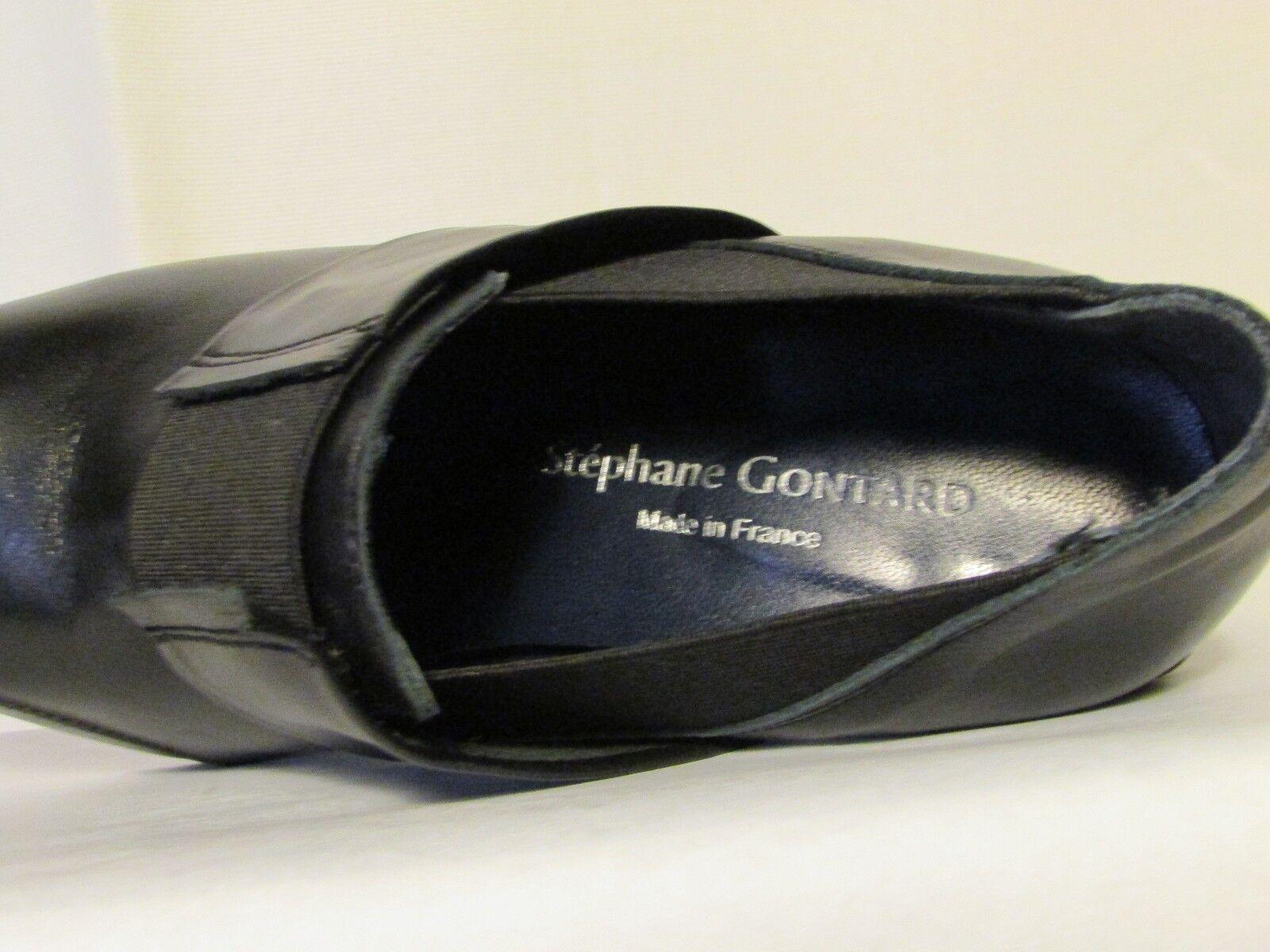 Chaussure Stéphane Stéphane Stéphane Gontard cuir schwarz 38,5 a02d40
