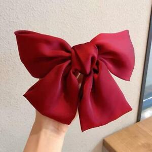 Big-Bow-Hair-Clip-Satin-Hairpin-Hair-Accessories-For-Women-Bowknot-Hairpins-N2B8