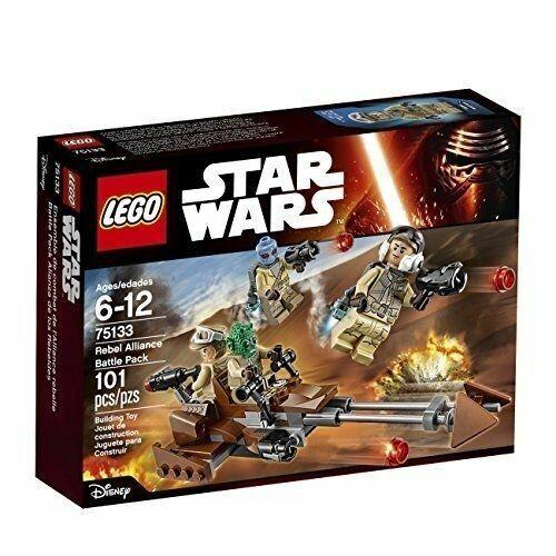 Authentic Lego Star Wars Minifigure Rebel Trooper  # 75133