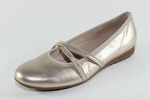 new style 9197c 5e73a Details zu Gabor 626.89, komfortable Ballerinas mit Effekt-Leder,  Damenschuhe *Übergröße*