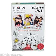 Winnie The Pooh Fujifilm Fuji Instax Mini Film 10 Sheets  for 7 8 25 50 SP1 90