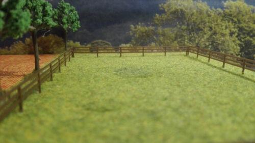 Spur TT 1:120über 65 cm länge Weidezaun braun