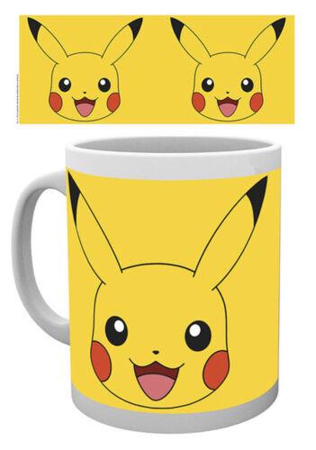 Größe Ø8,5 H9,5cm Pokemon Pikachu Keramik Tasse