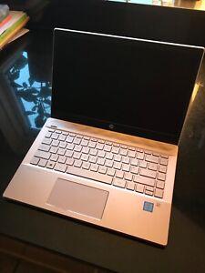 Hardly Used Hp 13 Inch Laptop Rose Gold Ebay