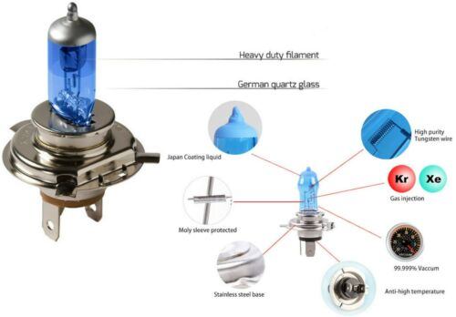 Halogen 9005 HB3 65W 3000K Yellow Two Bulbs Head Light High Beam Plug Play Stock