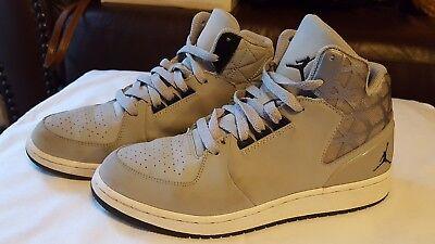 Jordan Jordan 1 Flight 3 Boys Size 6.5 Dust Gray Leather Basketball Shoes