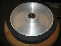 "2""x72"" Belt Grinder Rubber Contact Wheel, 250mm,(10"") Knife Making Contact Wheel"