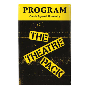 Cards Against Humanity Theatre Pack NEW