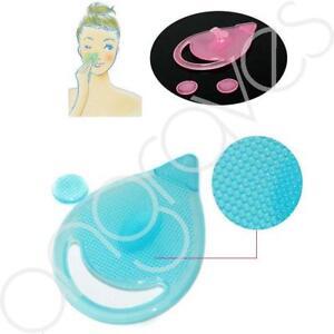 SILICONE-CON-PULIZIA-DEL-VISO-PUNTI-NERI-Remover-Pad-Spazzola-Bellezza-Scrub-Massaggio-Strumento