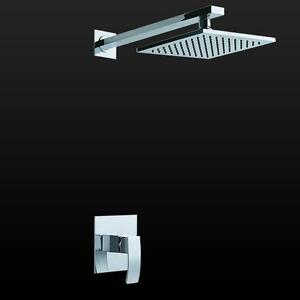 duschset unterputz komplett regendusche duschsystem tropendusche set duschpaneel ebay. Black Bedroom Furniture Sets. Home Design Ideas