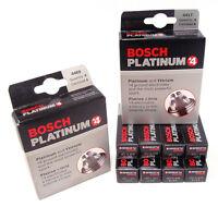 Bosch Platinum+4 Platinum Spark Plugs 4448 Set Of 8