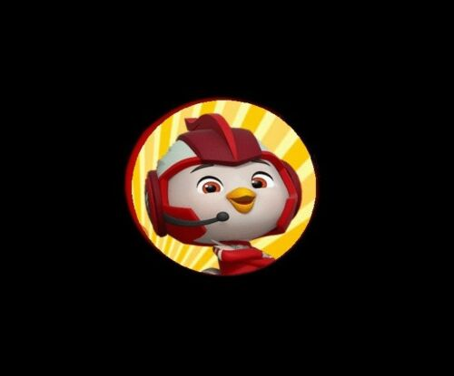 Top Wing Birds 12 Rings-Party Favors Kids Cupcake Loot Birthday Kids