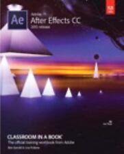 NEW - Adobe After Effects CC Classroom in a Book (2015 release)