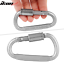 Camping-Outdoor-Aluminum-Alloy-D-ring-Screw-Lock-Buckle-Carabiner-1pc thumbnail 5