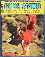 Vintage Magazine GUNS & AMMO July 1969 !!! PARKER-HALE Super MAUSER RIFLE !!!