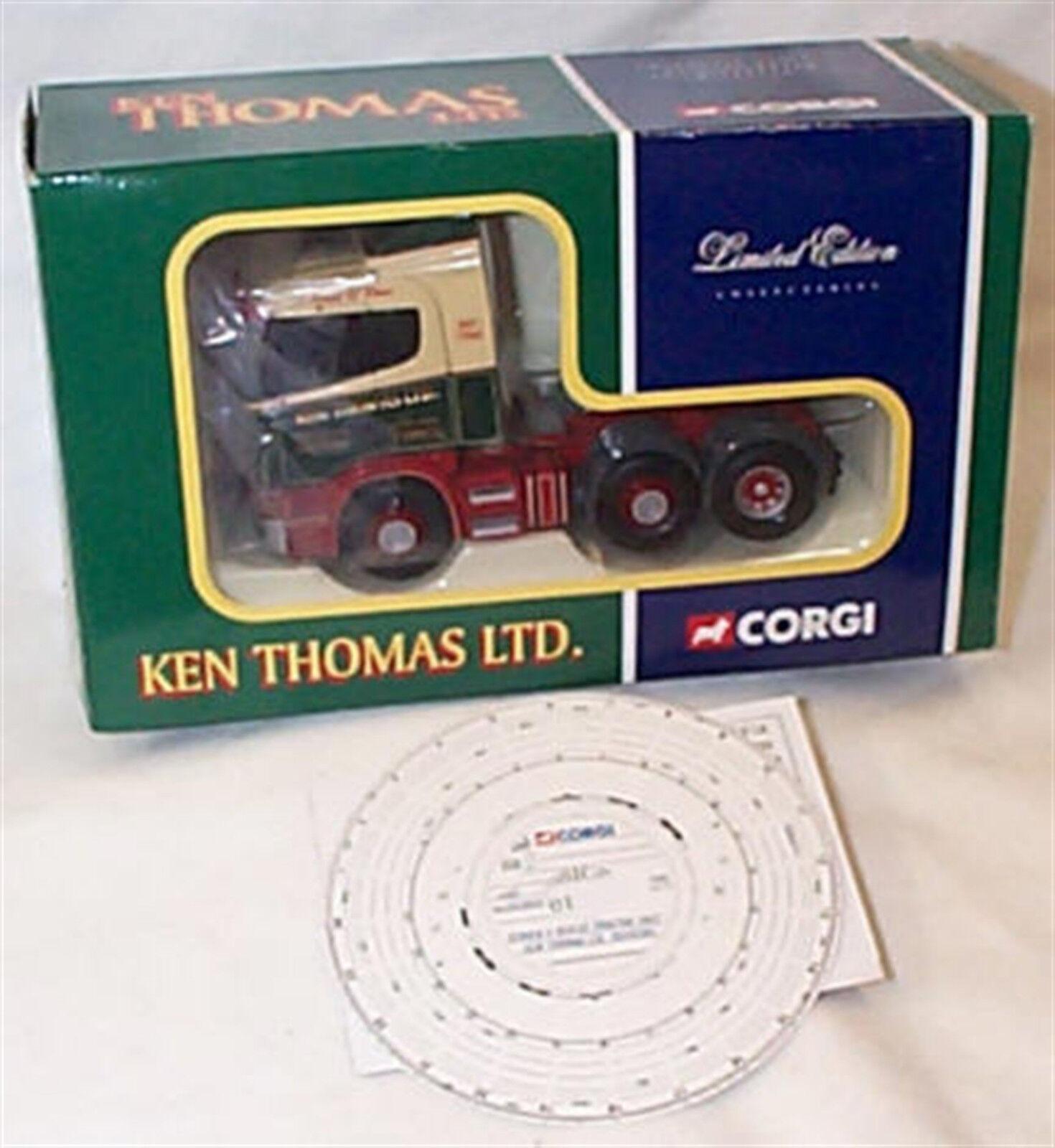 prezzo più economico SCANIA SERIE R motrice KEN Thomas Thomas Thomas CC12214 Nuovo in Scatola Ltd edizione  la migliore moda