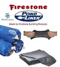 Firestone 45 Mil EPDM Flexible Water Garden Fish Pond Liner 20'x30' ShipsFreight