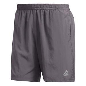 Alicia Satisfacer repetir  Adidas Run It 7 Inch Men's Running Athletic Gym CrossFit Shorts Grey Bottom  | eBay