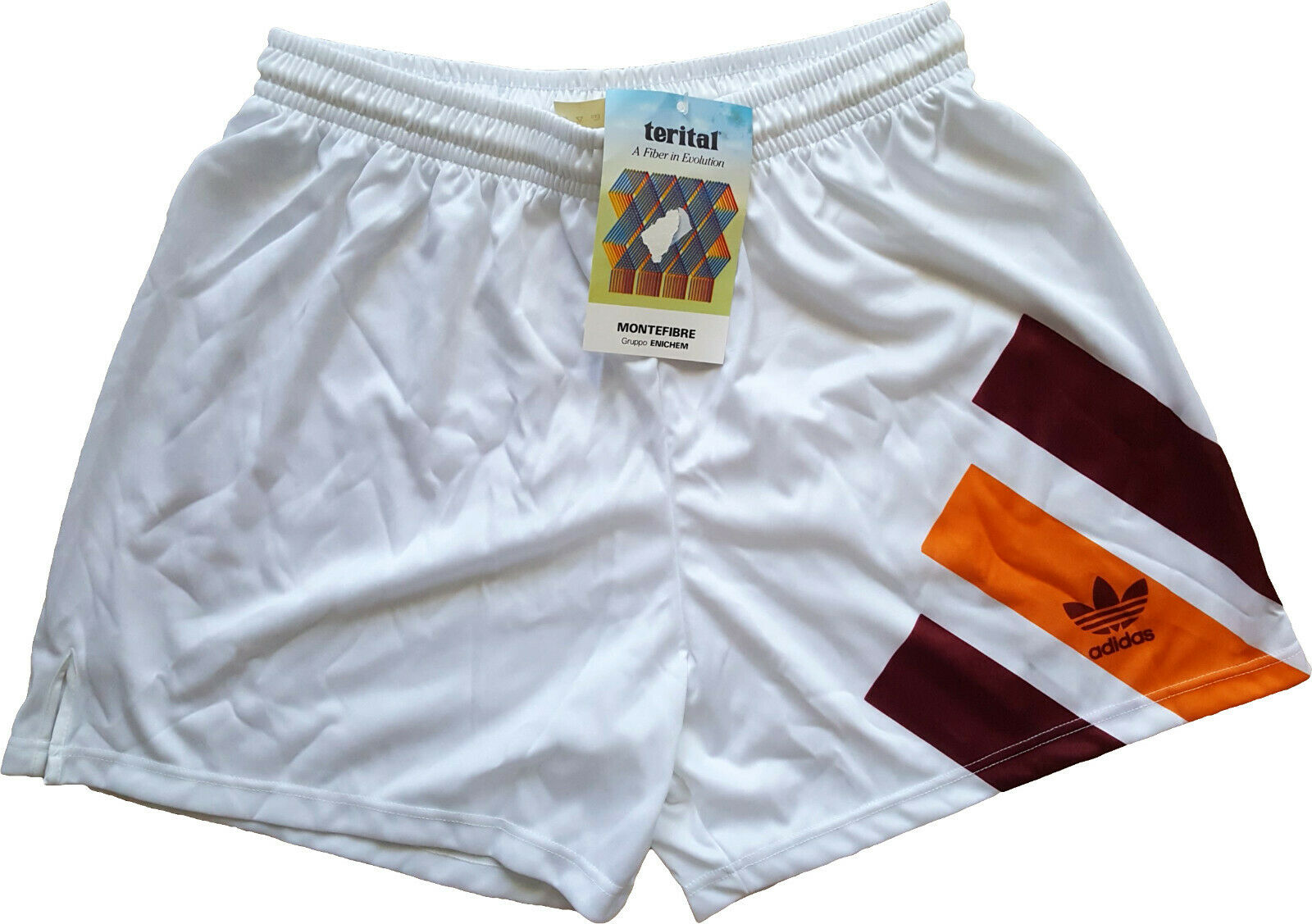 Adidas vintage roma shorts player issue 1993 1994 player issue nuovo away
