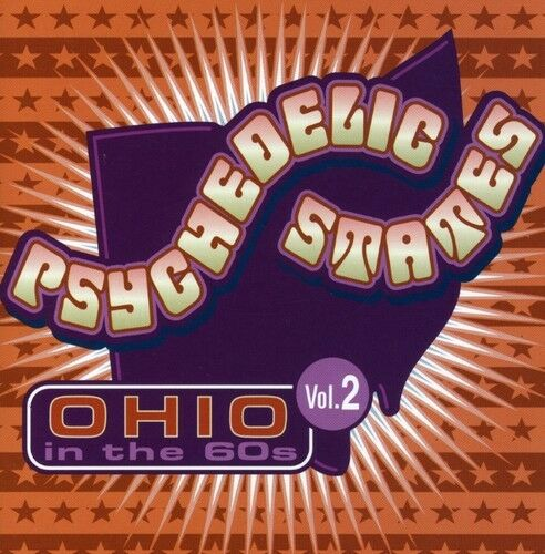 Various Artists, Psy - Psychedelic States: Ohio in the 60's 2 / Various [New CD]