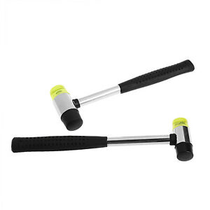 Double-Face-Soft-Tap-Rubber-Hammer-Mallet-DIY-Leather-Hand-Tool-25mm-G9CA