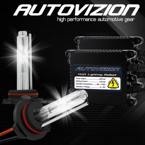 AUTOVIZION Slim 55W HID Xenon Kit Conversion 9006 9007 H1 H4 H7 H11 H13 5202 880